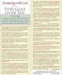 Struggle Over Sin Prayer (NETT)