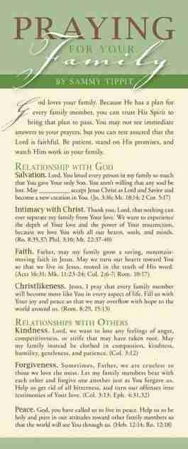 Praying for Your Family (NETT)
