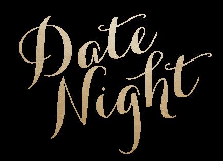 Date Night logo Gold