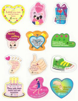 12 Parenting Hot Tip Magnet Set